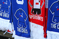 Football - 2017 / 2018 FA Cup - Semi Final: Chelsea vs. Southampton<br /> <br /> Chelsea and Southampton scarfs outside Wembley Stadium<br /> <br /> COLORSPORT/SHAUN BOGGUST