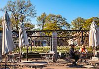 Outdoor sitting at Rosendals Trädgård & Kafe on Djurgården