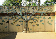 Bronze Tree sculpture at Royal Botanic Gardens, Kew, London, England, UKEngland, UK by Engineered Arts Limited 2008