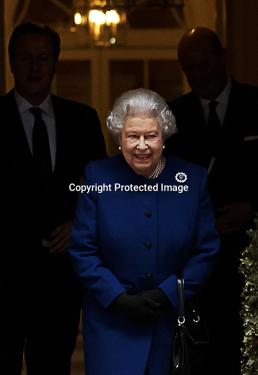Britain's Queen Elizabeth II leaves after attending the British government weekly cabinet meeting at 10 Downing Street, central London, Britain, on 18 December 2012. The Queen Elizabeth II is attending the cabinet meeting as an observer, the first time since Queen Victoria.  EPA/KERIM OKTEN