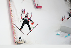 PYEONGCHANG, Feb. 10, 2018  Norway's Johann Andre Forfang competes during men's normal hill individual event of ski jumping at 2018 PyeongChang Winter Olympic Games at Alpensia Ski Jumping Center, PyeongChang, South Korea, Feb. 10, 2018. Robert titled second of the event with 250.9 points. (Credit Image: © Li Gang/Xinhua via ZUMA Wire)