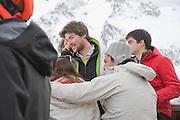 ANTONIUS FUERSTEMBERG. Children and Adult ski race in aid of the Knights of Malta,  Furtschellas. St. Moritz, Switzerland. 23 January 2009 *** Local Caption *** -DO NOT ARCHIVE-© Copyright Photograph by Dafydd Jones. 248 Clapham Rd. London SW9 0PZ. Tel 0207 820 0771. www.dafjones.com.<br /> ANTONIUS FUERSTEMBERG. Children and Adult ski race in aid of the Knights of Malta,  Furtschellas. St. Moritz, Switzerland. 23 January 2009