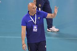 09-04-2016 ITA: CEV DenizBank Champions League Fenerbahce Grundig Istanbul - VakıfBank Istanbul, Montichiari<br /> Vakifbank wint met 3-0 en plaatst zich voor de finale / Head coach of Fenerbahce Grundig Istanbul Marcello Abbondanza<br /> <br /> ***NETHERLANDS ONLY***