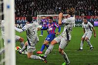 Goal Julien Feret - 20.12.2014 - Caen / Bastia - 17eme journee de Ligue 1 -<br />Photo : Philippe Le Brech / Icon Sport