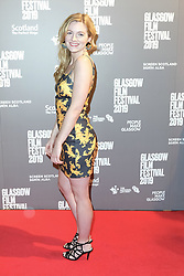 "Glasgow Film Festival, Sunday 3rd March 2019<br /> <br /> UK Premiere of ""Beats""<br /> <br /> Pictured: Gemma McElhinney (Actor)<br /> <br /> Alex Todd   Edinburgh Elite media"