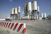DOHA, QATAR - 24/01/2007 - CORPORATE, United Readymix concrete factory for the Pearl<br /> <br /> © Christophe VANDER EECKEN