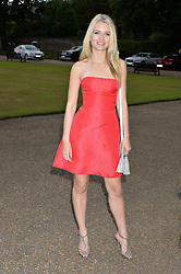 LOTTIE MOSS at The Ralph Lauren & Vogue Wimbledon Summer Cocktail Party at The Orangery, Kensington Palace, London on 22nd June 2015.  The event is to celebrate ten years of Ralph Lauren as official outfitter to the Championships, Wimbledon.