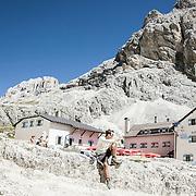 walking refuges in Trentino