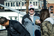 SHOT 12/10/17 1:03:22 PM - Former Buffalo Bills wide receiver and Hall of Fame player Andre Reed signs autographs and meets with fans at LoDo's Bar and Grill in Denver, Co. as the Buffalo Bills played the Indianapolis Colts that Sunday. Reed played wide receiver in the National Football League for 16 seasons, 15 with the Buffalo Bills and one with the Washington Redskins. (Photo by Marc Piscotty / © 2017)