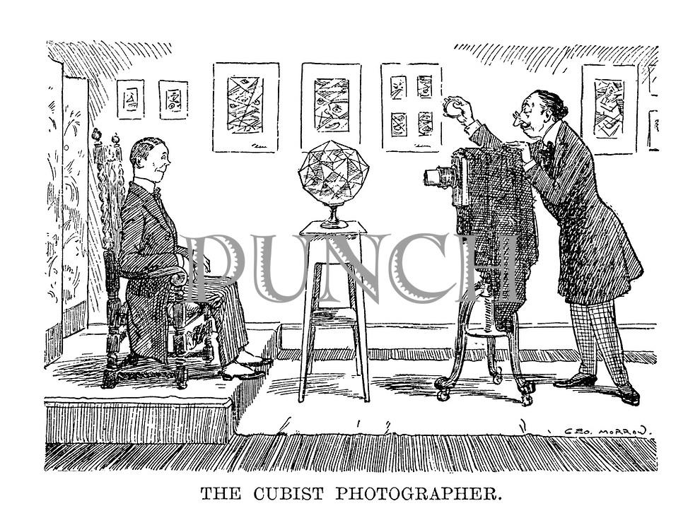 The Cubist Photographer.