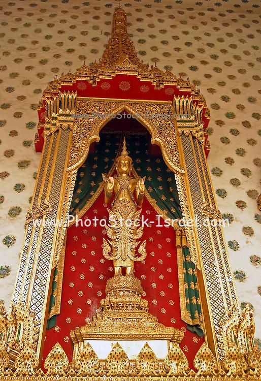 golden Buddha statue, Thailand, Bangkok,