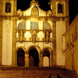 Santa Maria Do Bourho, Portugal - A couple prepares to enter  the former Cistercian monastery of Santa Maria Do Bourho, which is nestled in the hills of a small Portuguese town...Photo by Susana Raab