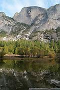Mirror Lake views, Yosemite National Park, California, Sierra Nevada Mountains, October, 2010
