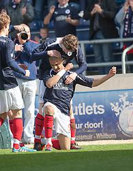 .Falkirk's Football Club's last game of season 2011-2012..Falkirk 3 v 2 Ayr United, 5/5/2012..©Michael Schofield..
