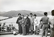 Kasamatsu Park with view on Ama No Hashidate Japan 1950s