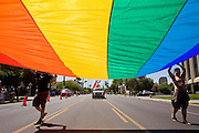14 APRIL 2007 -- PHOENIX, AZ: The annual Gay Pride Parade in Phoenix, AZ. Thousands of people attended the annual event. Photo by Jack Kurtz / ZUMA Press