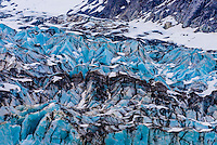 Lamplugh Glacier, Glacier Bay National Park (a UNESCO World Heritage Site), Southeast Alaska USA.