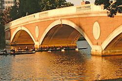 John Weeks bridge sculling Boston
