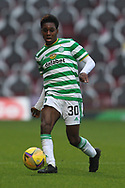 Jeremie Frimpong (Celtic) during the Scottish Premiership match between Motherwell and Celtic at Fir Park, Motherwell, Scotland on 8 November 2020.