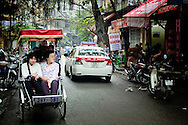 Vietnam, Hanoi. Old Quarter, probably the most beautiful district of the capital of vietnam, full of nice narrow streets, galleries, small temples and street reastaurants.