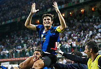 Fotball<br /> Italia<br /> 24.08.2008<br /> Supercup<br /> Inter v Roma<br /> Foto: Inside/Digitalsport<br /> NORWAY ONLY<br /> <br /> inter zanetti esultanza vittoria