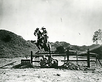 1930 Filming Tom Mix at Fox Studios in Hollywood