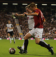 Bjørn Helge Riise of Fulham and brother John Arne Riise , Roma<br />