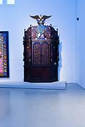 A Torah ark from the Adath Yeshurum synagogue, by Abraham Shulkin, ca. 1899.