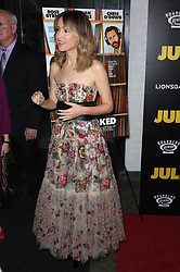 """Rose Byrne at the premiere of """"Juliet, Naked"""" Premiere in New York City."""