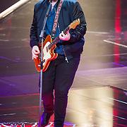NLD/Hilversum/20151205- Eerste Live uitzending The Voice 2015, Dave Vermeulen