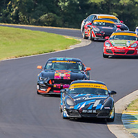 Alton, VA - Aug 26, 2016:  The Next Level European Porsche Cayman races through the turns at the Oak Tree Grand Prix at Virginia International Raceway in Alton, VA.