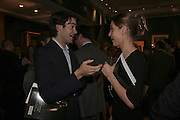 William van Cutsem and Mima Lopes, Reception and auction of Wildlife and Sporting Art in aid of the game Conservancy Trust. Christie's. King St. London W1. 12 December 2006. ONE TIME USE ONLY - DO NOT ARCHIVE  © Copyright Photograph by Dafydd Jones 248 CLAPHAM PARK RD. LONDON SW90PZ.  Tel 020 7733 0108 www.dafjones.com
