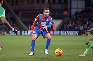 Yohan Cabaye of Crystal Palace in action. Barclays Premier league match, Crystal Palace v Sunderland at Selhurst Park in London on Monday 23rd November 2015.<br /> pic by John Patrick Fletcher, Andrew Orchard sports photography.
