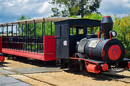 One of the little trains that will take you out to Praia do Barril, a white sand beach, plus Anchor Beach