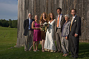 Cath And Stephan's wedding in Vermont.