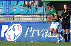 Edin Junuzovic (7) of Rudar at 6th Round of PrvaLiga Telekom Slovenije between NK Primorje Ajdovscina vs NK Rudar Velenje, on August 24, 2008, in Town stadium in Ajdovscina. Primorje won the match 3:1. (Photo by Vid Ponikvar / Sportal Images)