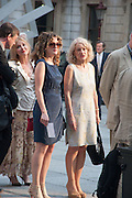 ANNA STOTHARD; SALLY EMMERSON, Celebration of the Arts. Royal Academy. Piccadilly. London. 23 May 2012.