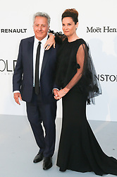 Dustin Hoffman, Lisa Hoffman arriving at 24th amfAR Gala during 70th Cannes film festival on May 25, 2017 in Cannes, France. Photo by Nasser Berzane/ABACAPRESS.COM