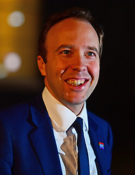 Health and Social Care Secretary Matt Hancock leaves 10 Downing Street, London, after a Cabinet meeting that agreed the draft Brexit withdrawal agreement.