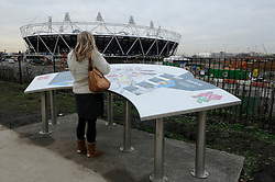 © under license to London News Pictures. .2010,12,10,   Today  (Friday)  .The Olympic Stadium being built in Stratford, East London, will host the Athletics and Paralympic Athletics events at the London 2012 Games, as well as the Opening and Closing Ceremonies..Picture credit should read Grant Falvey/London News Pictures...