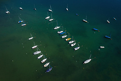 THEMENBILD - Boote am Badeplatz Prielau am Zeller See, aufgenommen am 30. Juni 2019 in Zell am See, Österreich // Boats at the swimming area Prielau at the lake of Zell, Zell am See, Austria on 2019/06/30. EXPA Pictures © 2019, PhotoCredit: EXPA/ JFK