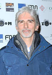 © London News Pictures. Damon Hill, Zoom Formula 1 Charity Photographic Auction, InterContinental London, London UK, 07 February 2014. Photo credit:  Richard Goldschmidt/LNP