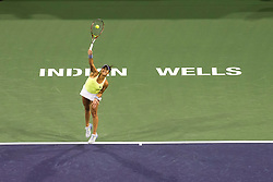 March 08, 2018: Heather Watson (GBR) defeated by Victoria Azarenka (BLR) 6-4, 6-2 at the BNP Paribas Open played at the Indian Wells Tennis Garden in Indian Wells, California. ©Mal Taam/TennisClix/CSM/Sipa USA(Credit Image: © Mal Taam/CSM/Sipa USA)