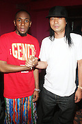 l to r: Mos Def and DJ Honda at The Black Star Concert presented by BlackSmith and Live N Direct held at The Nokia Theater in New York City on May 30, 2009