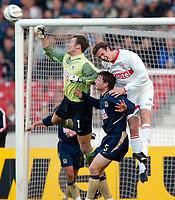 v.l. Michael Hofmann, Janne Saarinen, Marco Streller VfB<br />Bundesliga VfB Stuttgart - TSV 1860 MŸnchen
