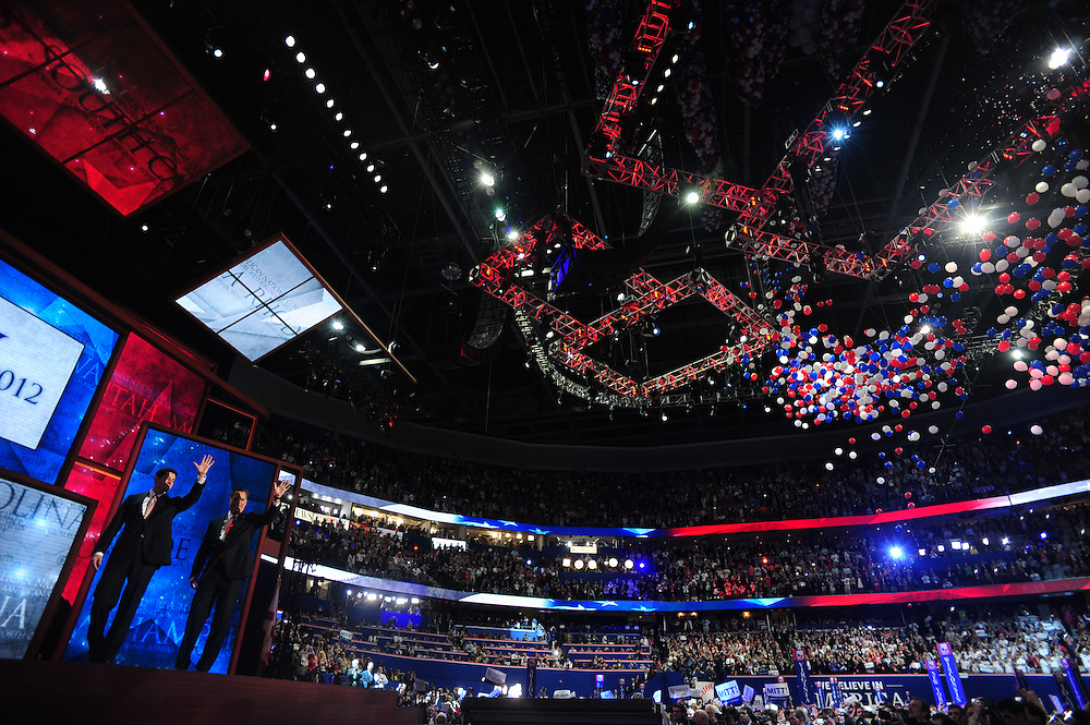 CAPTION- August 30, 2012 at the Republican National Convention in Tampa, FL.