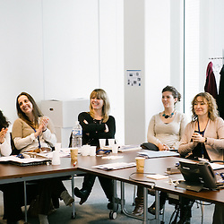 Rencontre des services Relation Humaines chez le groupe pharmaceutique IPSEN. Boulogne-Billancourt, France. 19 mars 2010. Photo : Antoine Doyen