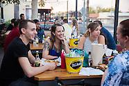Tasting Table and Mikes Hard Lemonade at Smokehaus