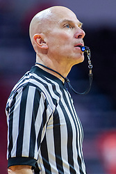 NORMAL, IL - January 05:  Scott Doberstein during a college women's basketball game between the ISU Redbirds and the Purple Aces of University of Evansville January 05 2020 at Redbird Arena in Normal, IL. (Photo by Alan Look)