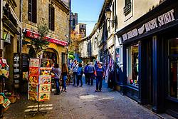 Street scene in the Cité de Carcassonne, France<br /> <br /> (c) Andrew Wilson   Edinburgh Elite media